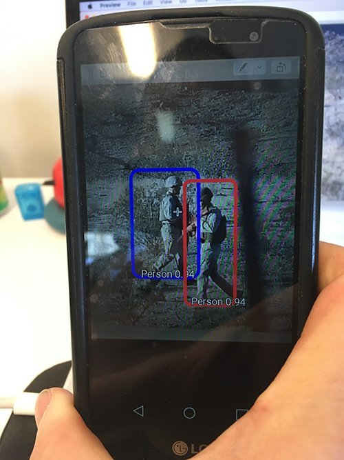 detection from the emulator