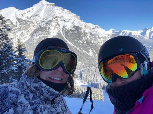 Robin Bass: Skiing