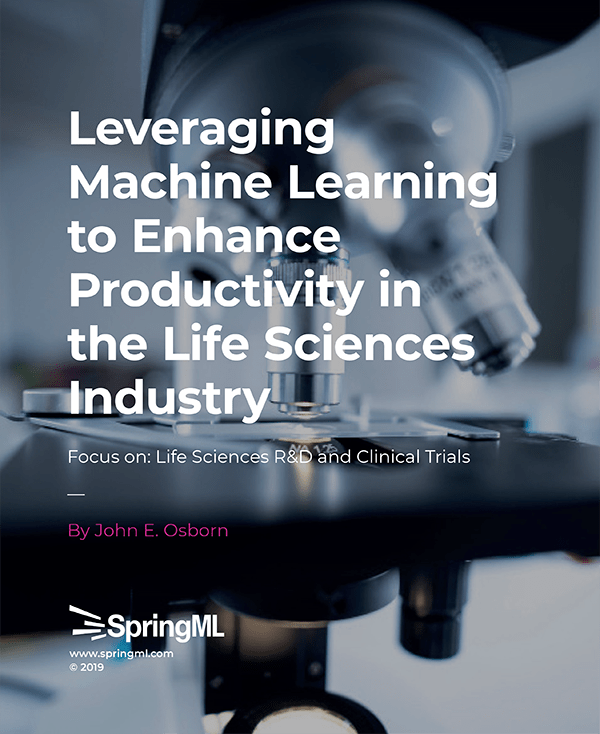 Leveraging ML to Enhance Productivity in Life Sciences