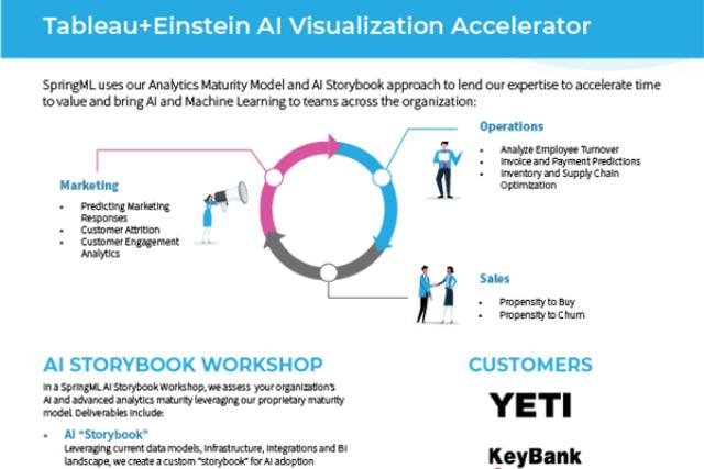 Tableau Einstein AI Visualization Accelerator