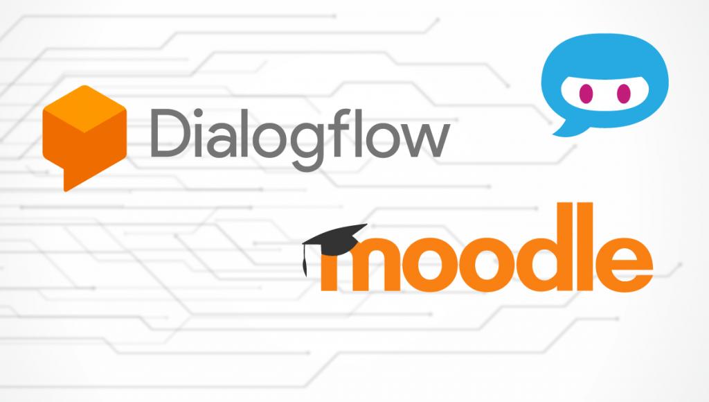 Moodle Integration with DialogFlow chatbots video image
