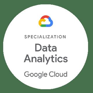 Google Cloud Data Analytics Specialization