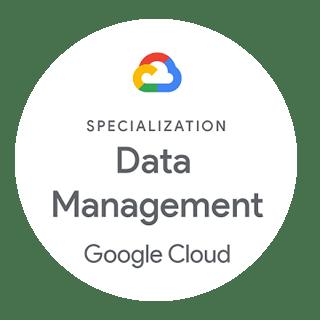 Specialization Data Management Google Cloud