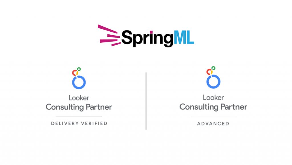 SpringML Achieves Advanced Partner Status Looker Partner Program