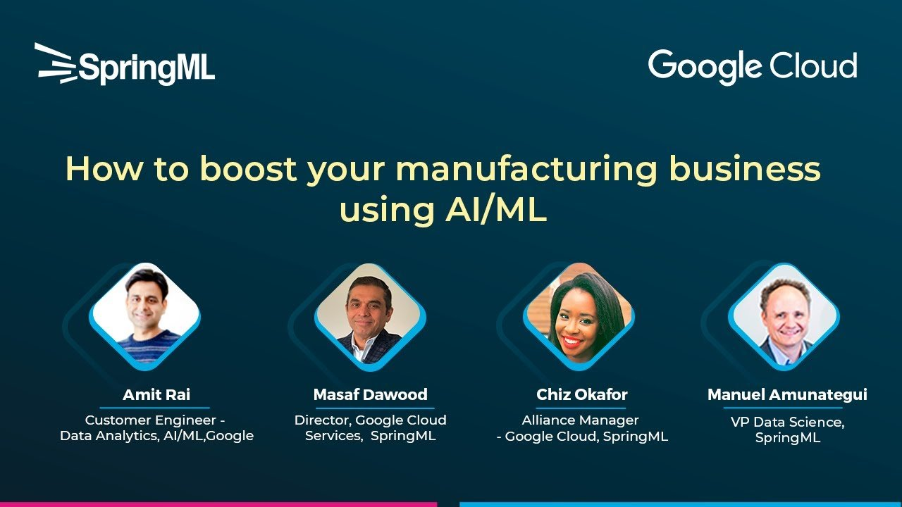 How to boost your manufacturing business using AI/ML